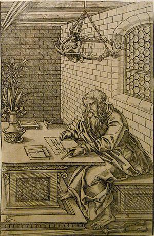 Lukas Cranach d. J. Der Heilige Paulus ca. 154...