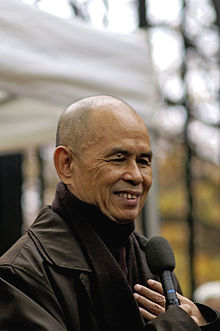 Thich Nhat Hanh in Paris in 2006