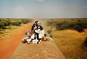 Train in South Sudan