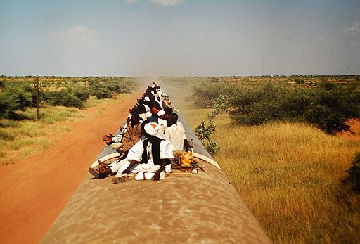 Train Sudan towards Wau