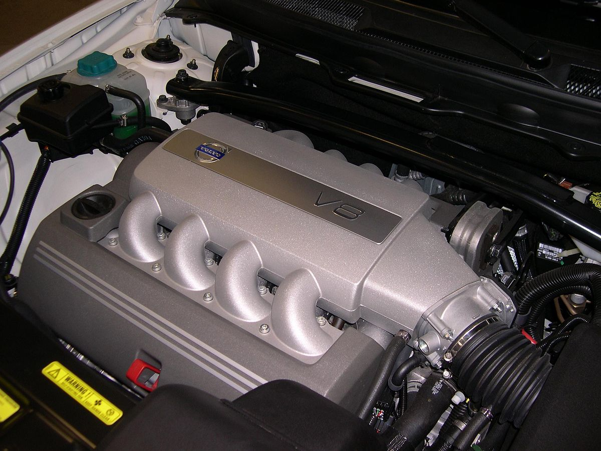 volvo v8 engine diagram