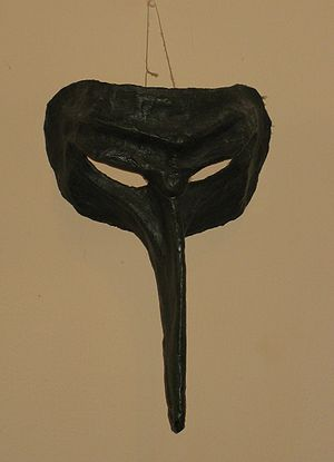 English: Commedia dell'arte masks