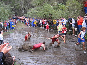 English: This cross-country race course in Sea...