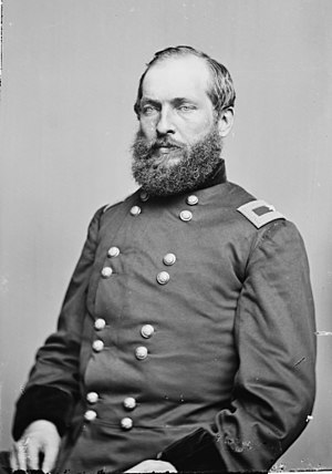 English: General James Garfield. Library of Co...