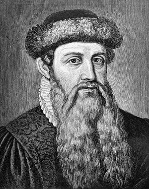 8. Johannes Gutenberg