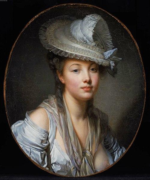 Ficheiro:Jean-Baptiste Greuze The White Hat 2120759508.jpg