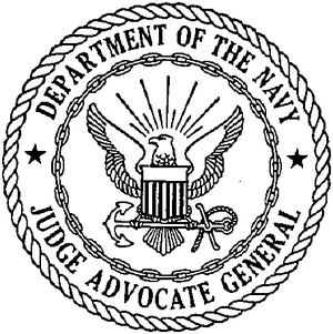 English: Seal of the Judge Advocate General of...