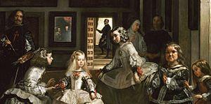 Español: Las Meninas o La familia de Felipe IV...