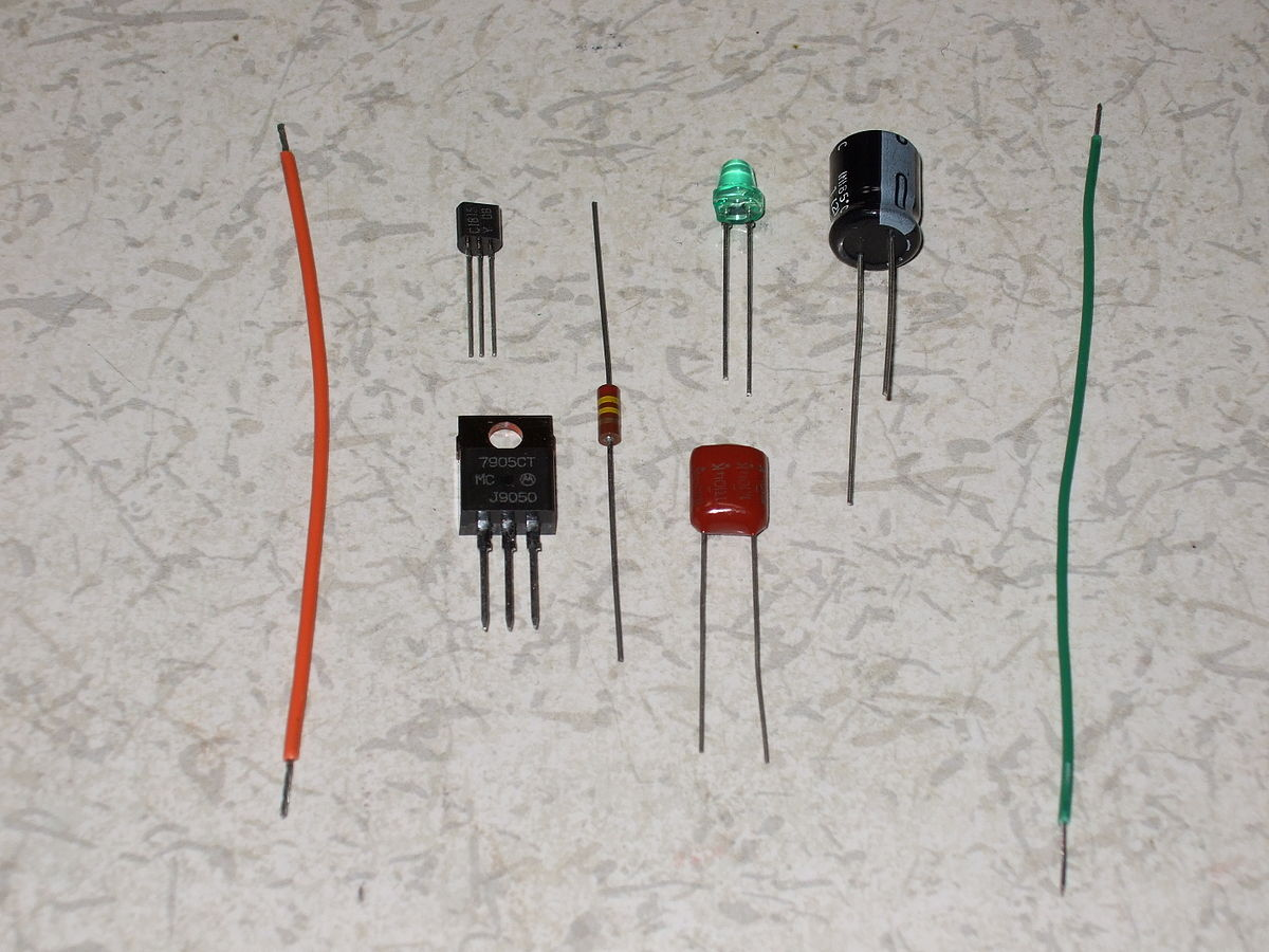 The Material To Be Tested Circuit Used For Testing Conductivity