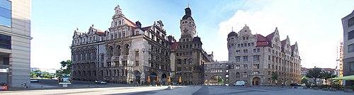 Leipzig - Neues Rathaus (2008)