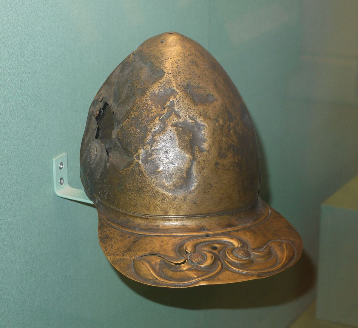 Roman Helmet Horns