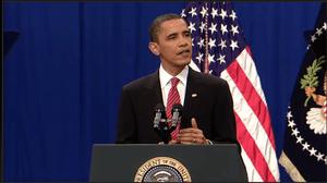 Screenshot of United States President Barack O...