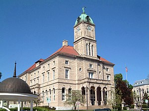 Rockingham County Courthouse in Court Square, ...