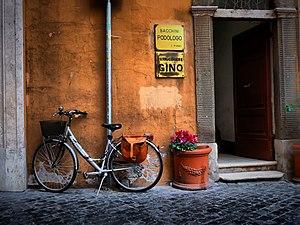 Bike in Rome
