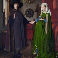"""Arnolfini Portrait"" by Jan van Eyck"