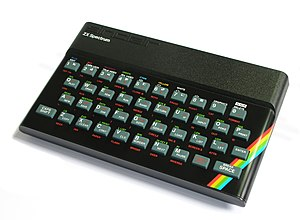 English: Sinclair 48K ZX Spectrum computer (19...