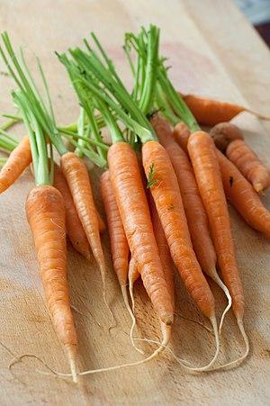 Baby carrots.