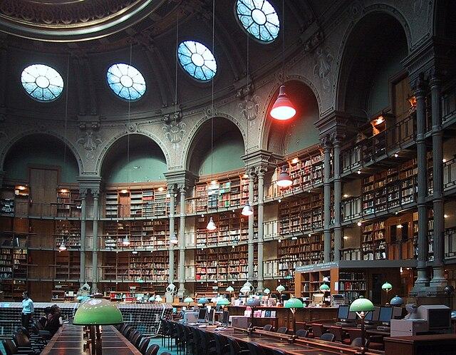 Bibliothèque nationale de France, site Richelieu (salle ovale)