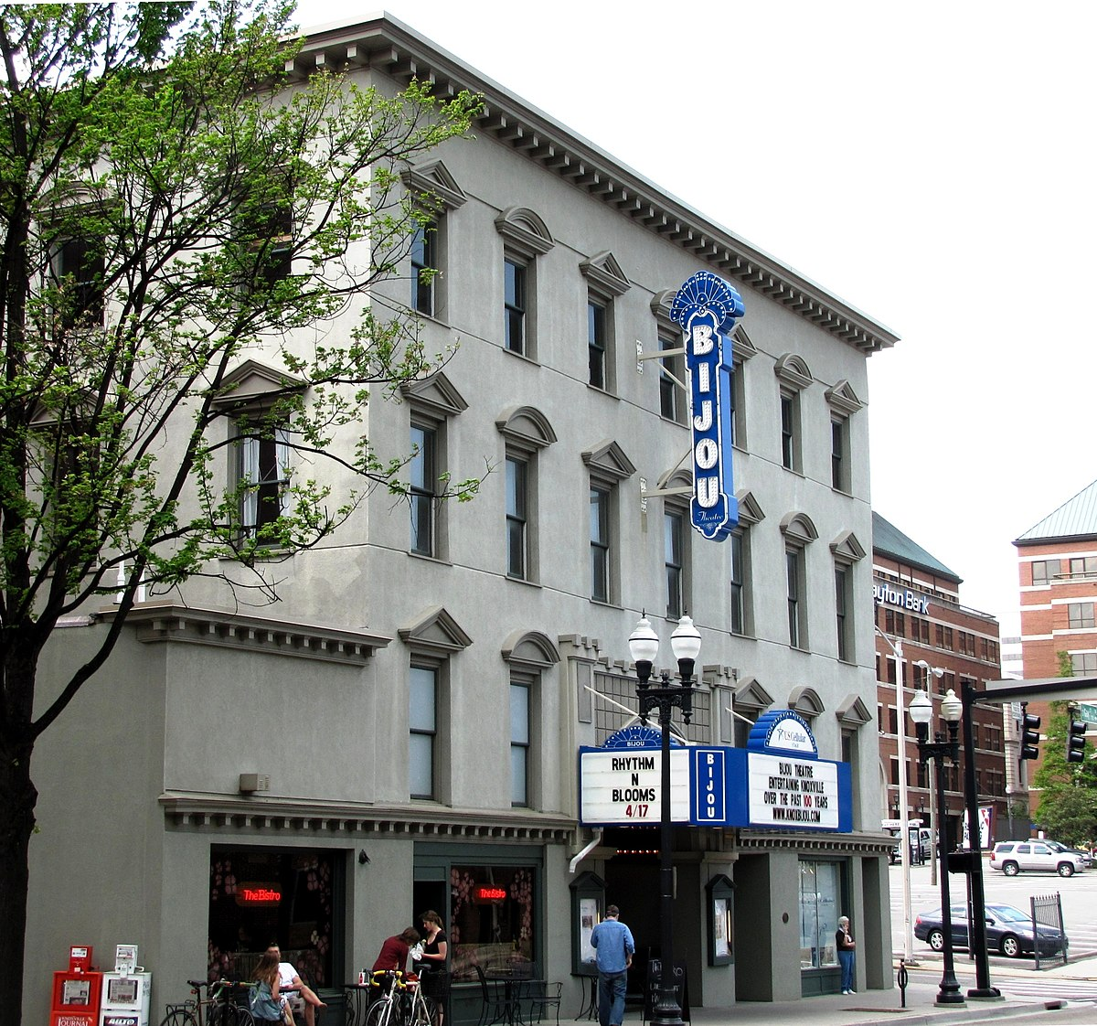 Bijou Theatre Knoxville Tennessee  Wikipedia