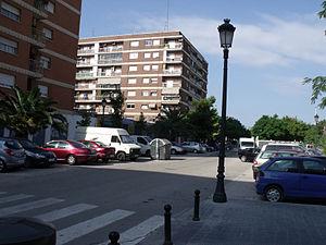 Español: Calle Segunda República Española. Val...