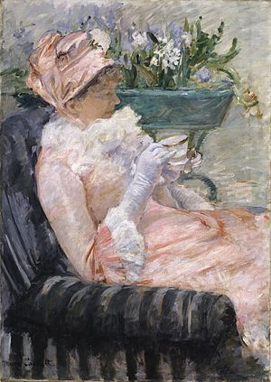 Cassatt Mary The Cup of Tea 1880