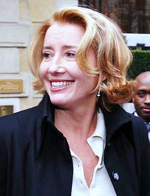 English: Emma Thompson at the César awards cer...