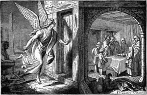 The Angel of Death and the First Passover (ill...