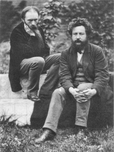 File:Frederick Hollyer Edward Burne-Jones and William Morris 1874.jpg