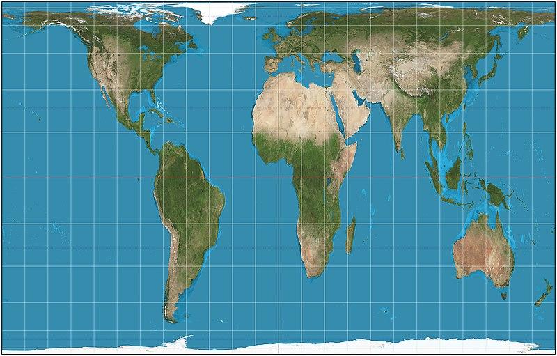 Mapa de Peters