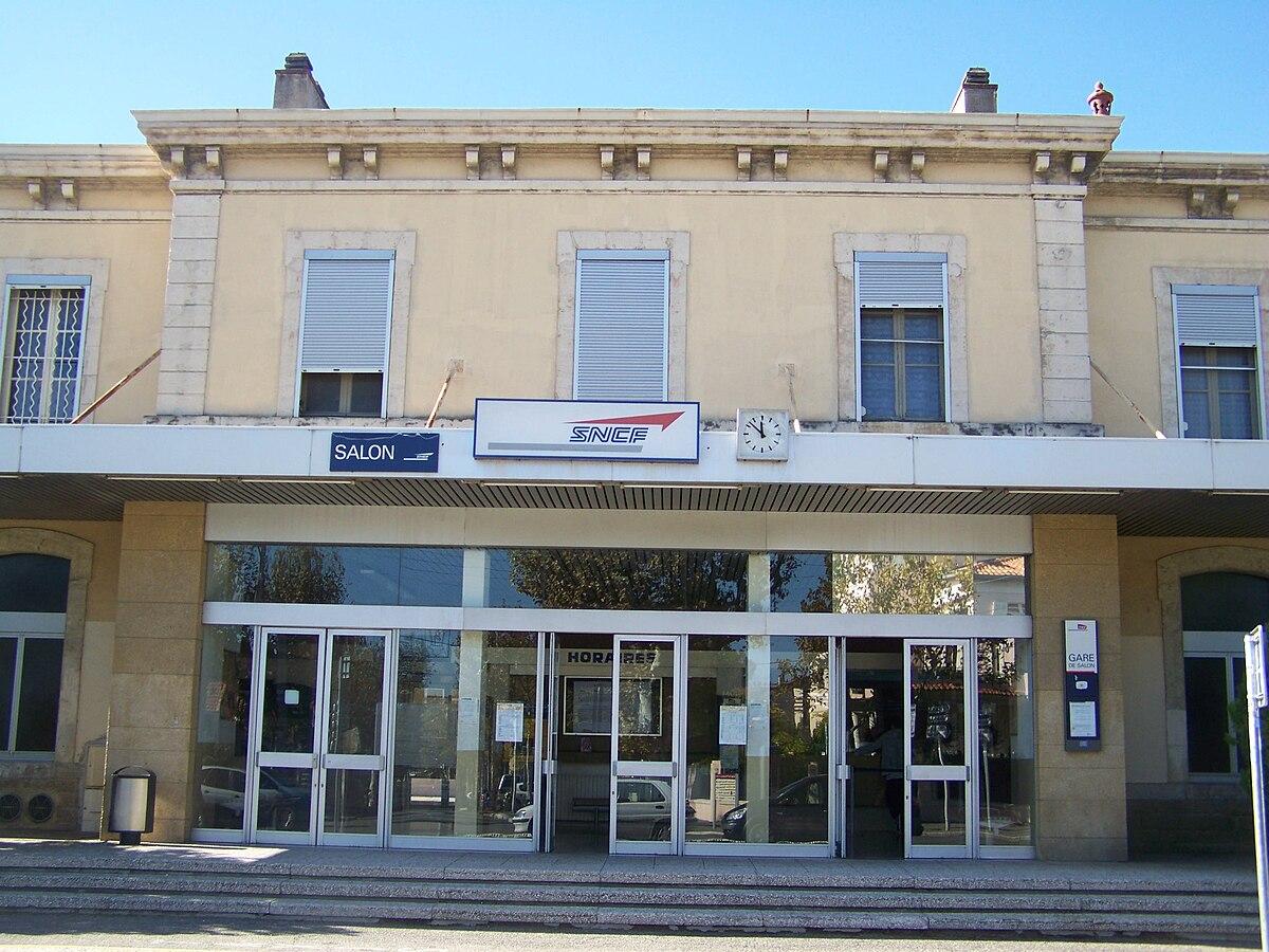 Gare de Salon  Wikipdia