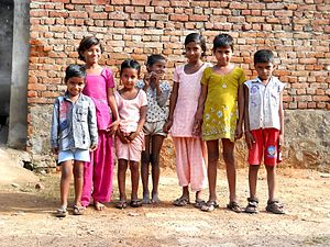 English: Children in Gurgaon, Haryana, India