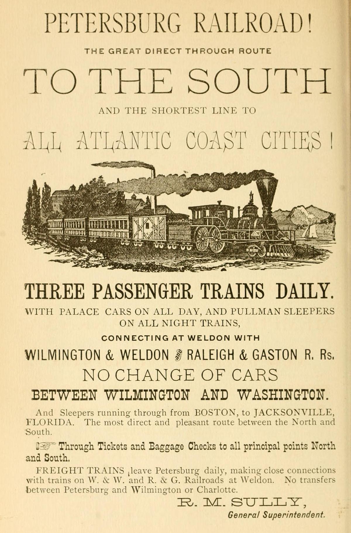 Petersburg Railroad Wikipedia