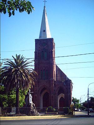 San Francisco church in Curicó, Chile (Iglesia...
