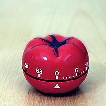 Relógio de Cozinha p/ controlar os pomodoros