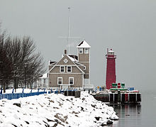 Muskegon Pier Light  Wikipedia