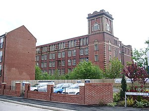 English: Pilot Mill, Bury