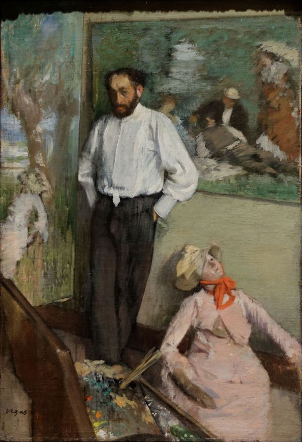 Edgar Degas Portraits Paintings