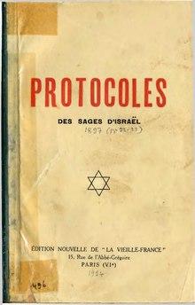 Protocole Des Sages De Sion Pdf : protocole, sages, Protocoles, Sages, Wikipédia