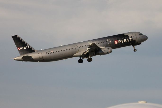 Spirit Airlines N587NK