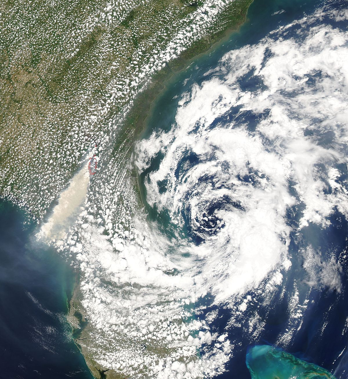 Cyclone subtropical  Wikipdia
