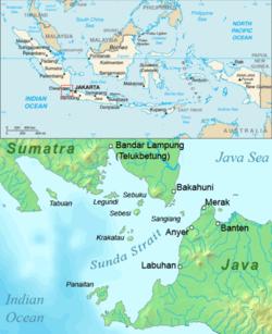 El estrecho de Sunda