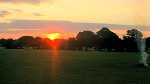 English: Sunrise.