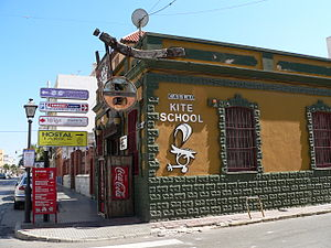 Tarifa kite school.