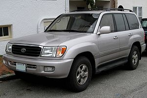 Toyota Land Cruiser photographed in Annapolis,...