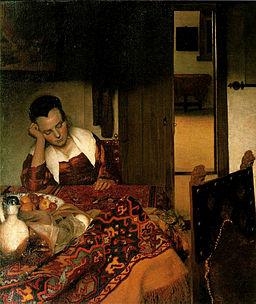 Vermeer - Girl Asleep