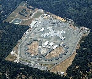 Pelican Bay State Prison, looking west, taken ...