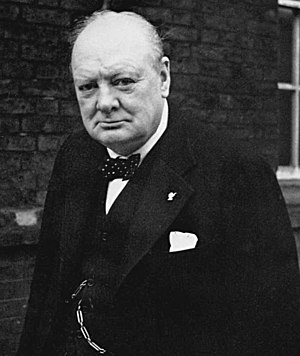 Winston Churchill, Prime Minister of the Unite...