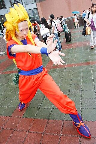 FileCosplayer of Goku Dragon Ball Z at CWT16 20070812jpg  Wikimedia Commons