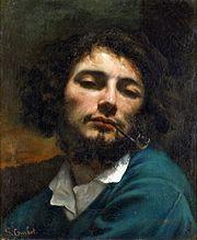Autoportrait dit Le fumeur de pipe (1849)