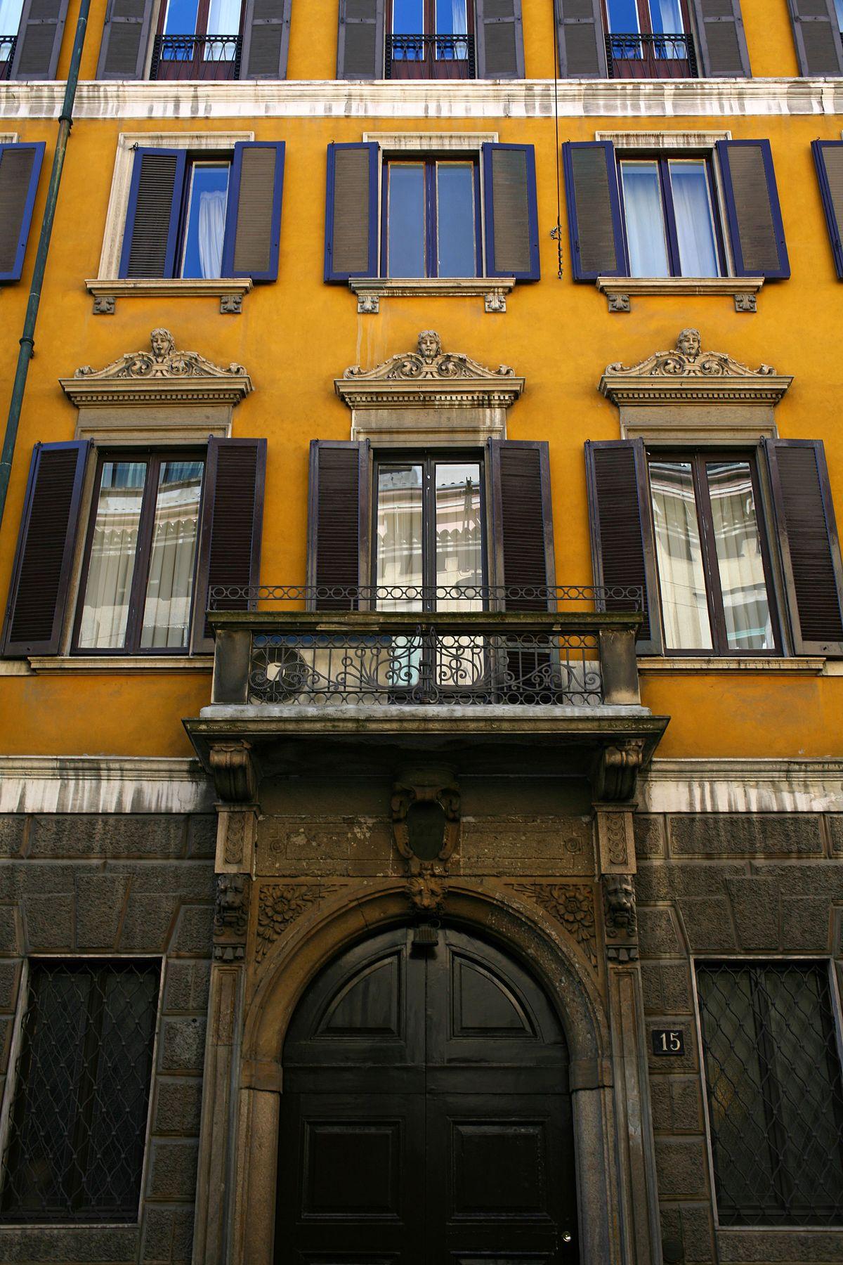 Palazzo Recalcati Tagliasacchi  Wikipedia